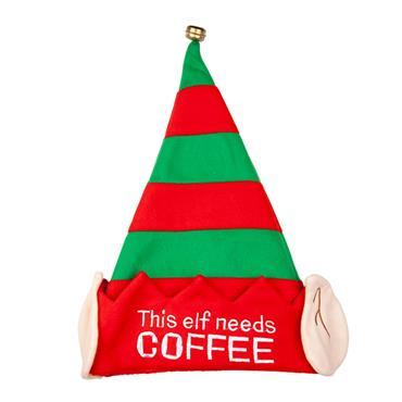 Xmas Hat - This Elf Needs Coffee