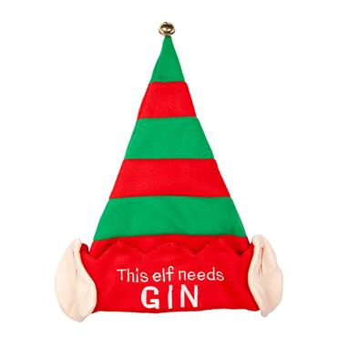 Xmas Hat - This Elf Needs Gin