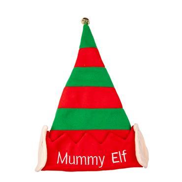 Xmas Hat - Mummy Elf
