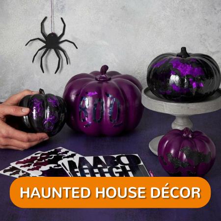 Halloween - Haunted House Decor