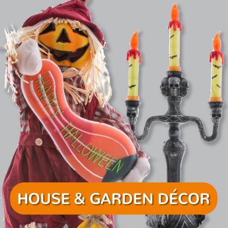 Halloween - House Garden