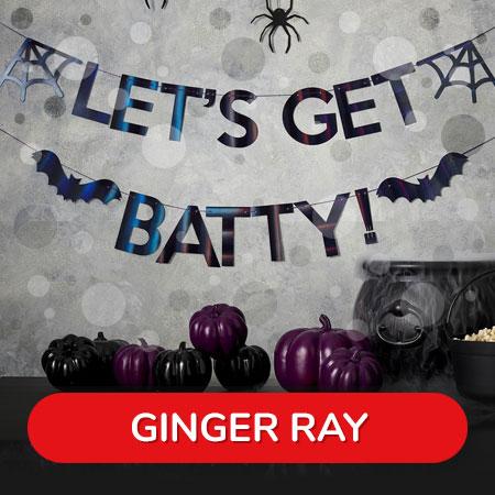 Shop Ginger Ray Halloween Range