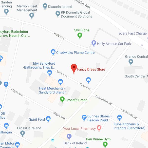 Fancy Dress Store location map