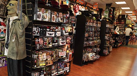 Fancy Dress Store interior