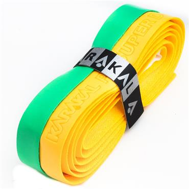 Karakal Duo Super Hurling Grip - Green/Yellow