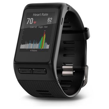 GARMIN VIVOACTIVE HR GPS SMARTWATCH - Black