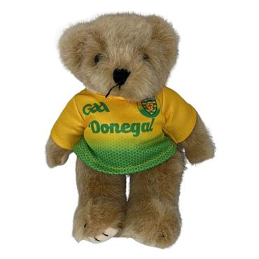 OFFICIAL DONEGAL MERCHANDISE DONEGAL GAA CAR TEDDY - Yellow