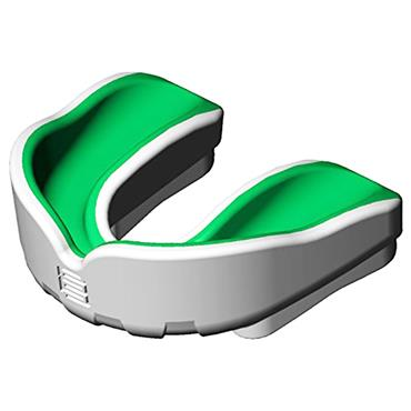 MAKURA SENIOR IGNIS PRO MOUTHGUARD - WHITE/GREEN