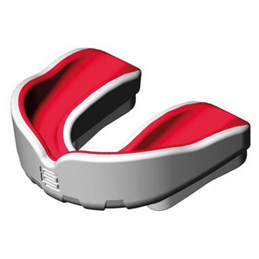 Makura Senior Ignis Pro Mouthguard - White/Red