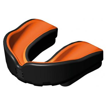 Makura Junior Ignis Pro Mouthguard - Black/Orange