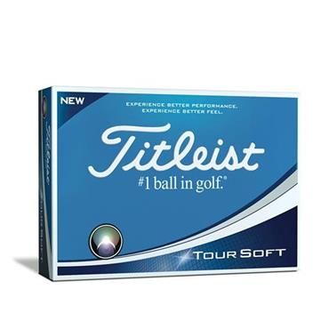 Titleist Tour Soft Golf Balls Set of 12 - White
