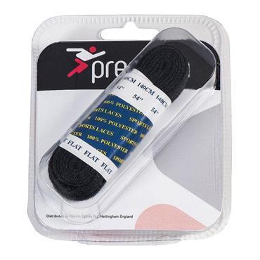 Precision Oval Laces Black 100cm - BLACK