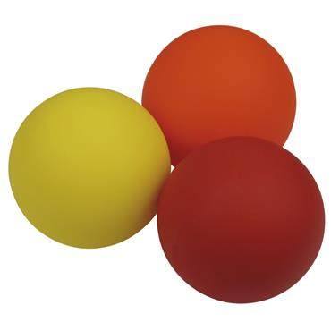 Urban Fitness Trigger Point Massage Ball Set - Red/Orange/White