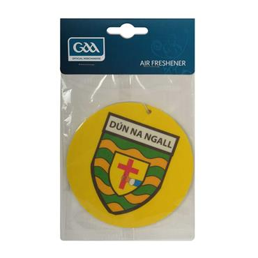 Donegal GAA Air Freshner - Yellow