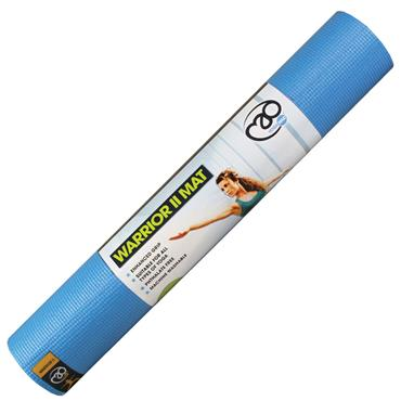 Fitness Mad Warrior II Yoga Mat 4mm - Blue