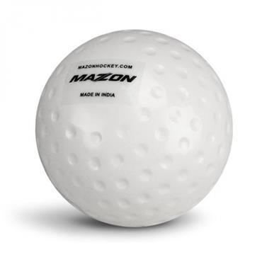 MAZON CLUB DIMPLED HOCKEY BALL - WHITE