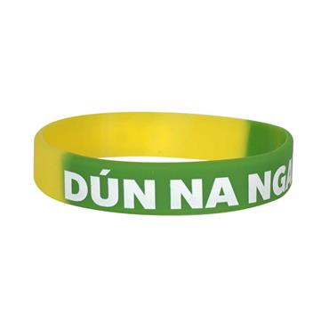 Donegal GAA Wristband - Green/Yellow