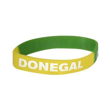 Donegal GAA Wristband - Green/Yellow
