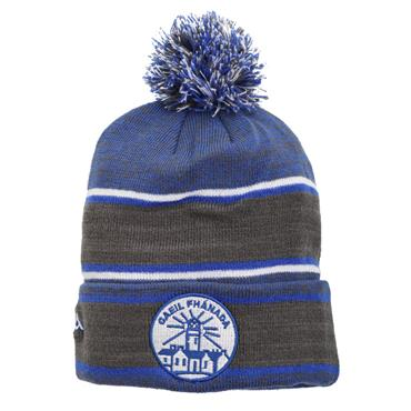 Official GAA Merchandise Fanad Gaels GAA Bobble Hat - Grey/Blue