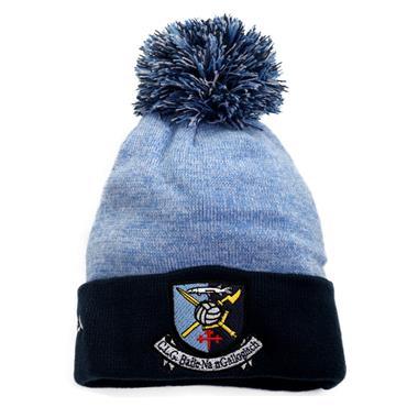 Milford GAA Bobble Hat - Navy/Sky