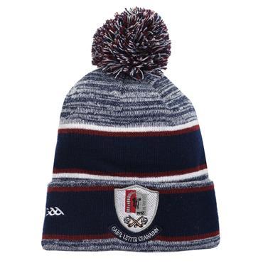 Letterkenny Gaels GAA Bobble Hat - Maroon