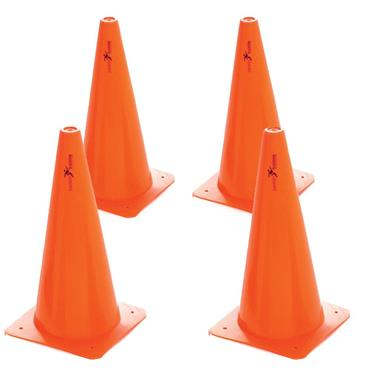 "Precision 15"" Traffic Cones Set of 4 - Orange"