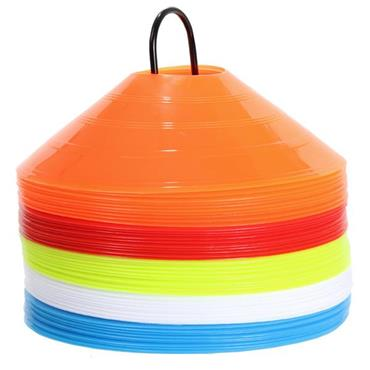 Precision Saucer Cones Set of 50 - Multi