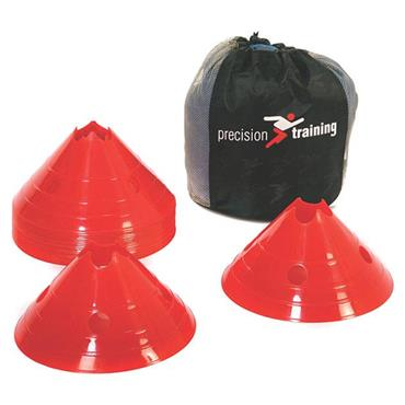 Precision Pro Giant Saucer Cone Set of 20 - Red