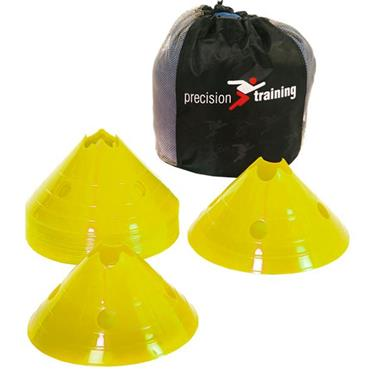 Precision Pro Giant Saucer Cone Set of 20 - Yellow