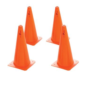 "Precision 12"" Traffic Cone Set of 4 - Orange"