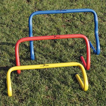 """9 """"STEP TRAINING HURDLE SET OF 6 - RED"""