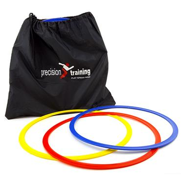 Precision Speed Agility Hoops Set of 12 - Multi