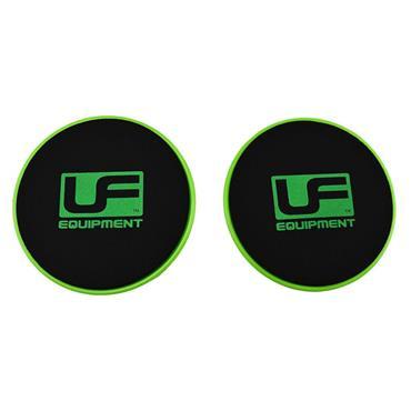 Urban Fitness Core Sliders - Green/Black