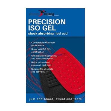 PRECISION ISO GEL HEEL CUSHIONS LARGE - BLACK