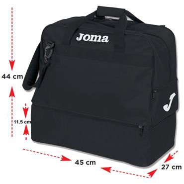 Joma Training Bag III - BLACK
