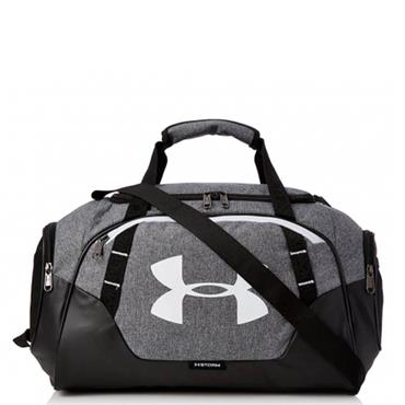 UNDER ARMOUR UNDENIABLE 3.0 DUFFLE BAG - GREY/BLACK