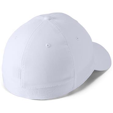 UNDER ARMOUR MENS BASEBALL CAP - WHITE