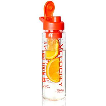 Titleist Velocity Water Bottle - Clear/Orange