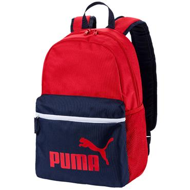 PUMA PHASE BACKPACK - NAVY/RED