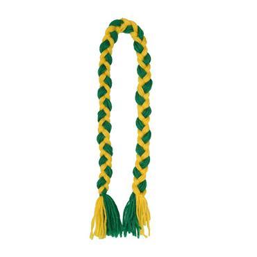 Donegal GAA Plaits - Green/Yellow