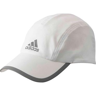 ADIDAS RUNNING HAT - WHITE