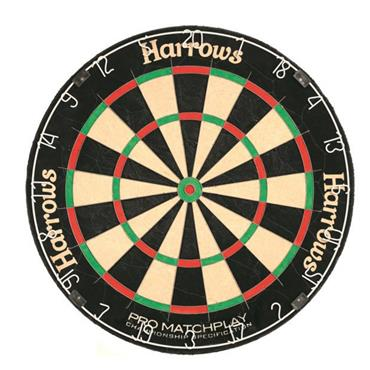 Harrows Pro Matchplay Dartboard - BLACK