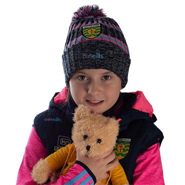 Kids Donegal GAA Bobble 83 Hat - Marine