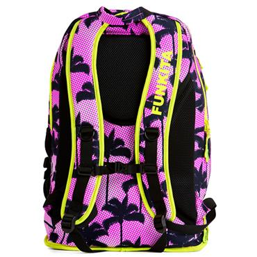 Funkita Elite Squad Pop Palms Backpack - Pink/Navy