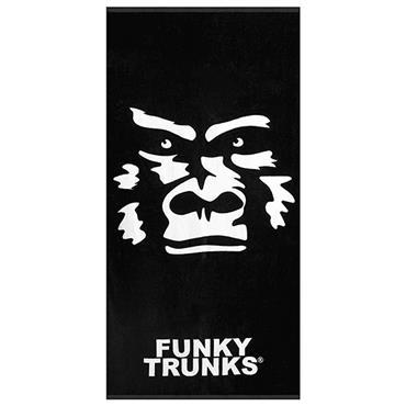 FUNKITA FUNKY TRUNKS THE BEAST TOWEL - BLACK/WHITE