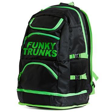 Funky Turnks Elite Squad Backpack - Black/Lime