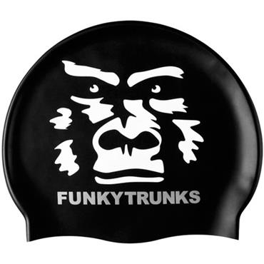Funky Trunks Silicone Swim Cap - Black