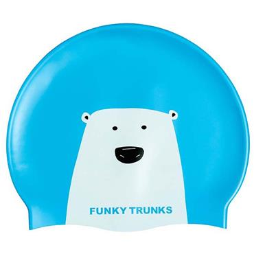 Funky Trunks Silicone Swim Cap - Blue