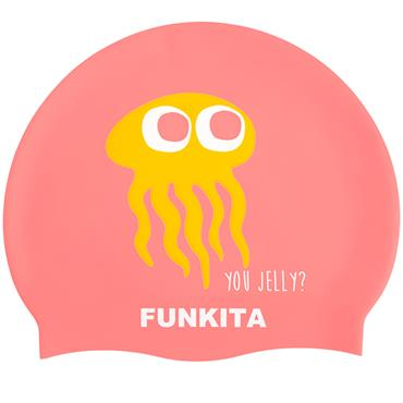 Funkita Silicone Swim Cap - Orange