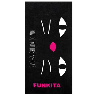 Funkita Meow Towel - Black